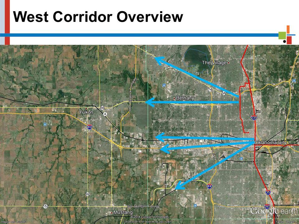 West Corridor Overview