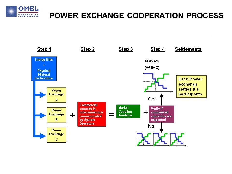 POWER EXCHANGE COOPERATION PROCESS