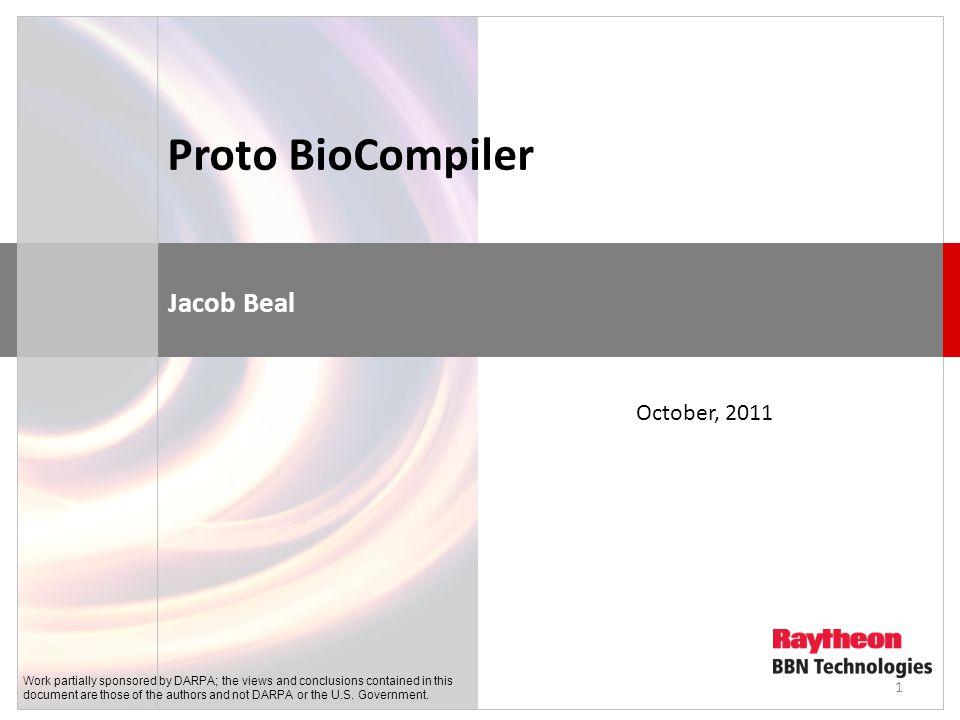 Vision: WYSIWYG Synthetic Biology Bioengineering should be like document preparation: 2