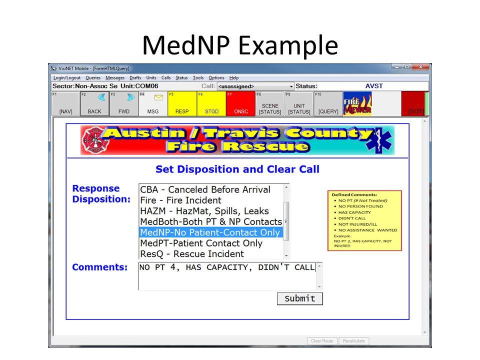 MedNP Example