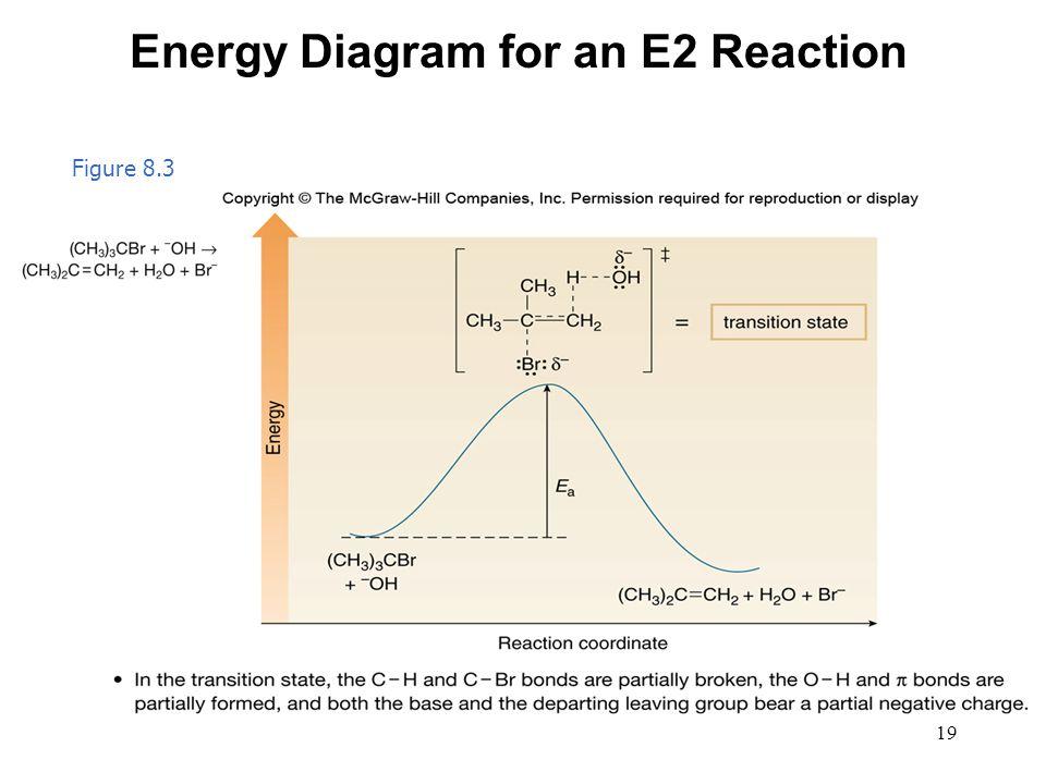 19 Figure 8.3 Energy Diagram for an E2 Reaction
