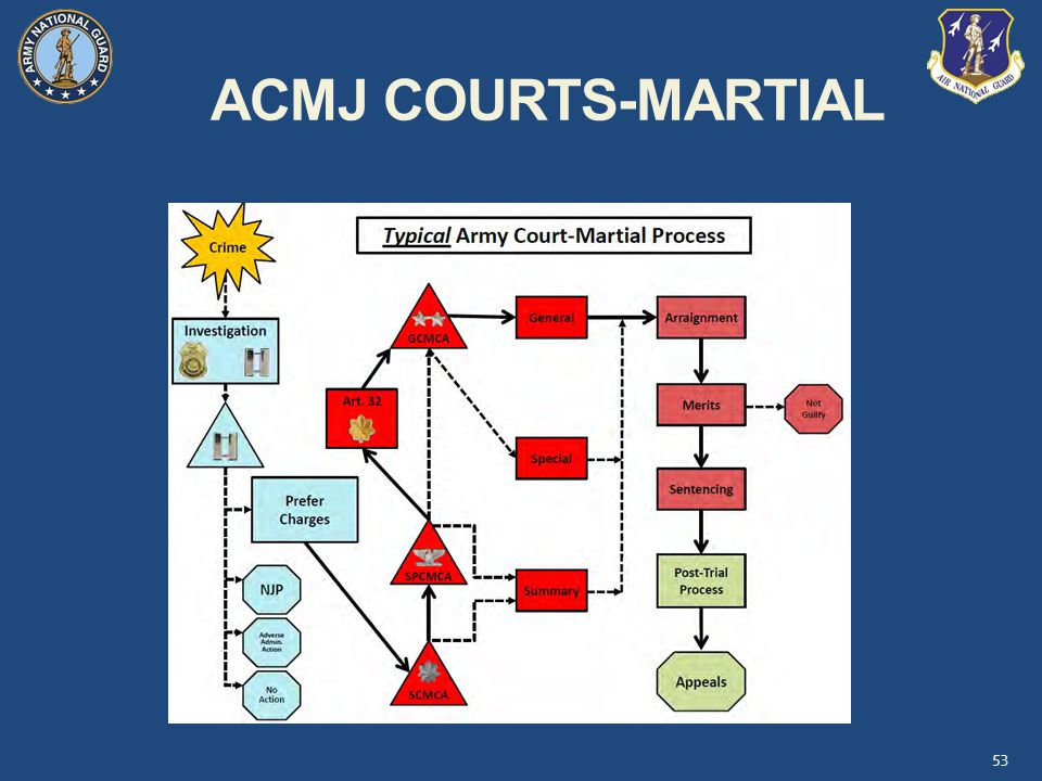 ACMJ COURTS-MARTIAL 53