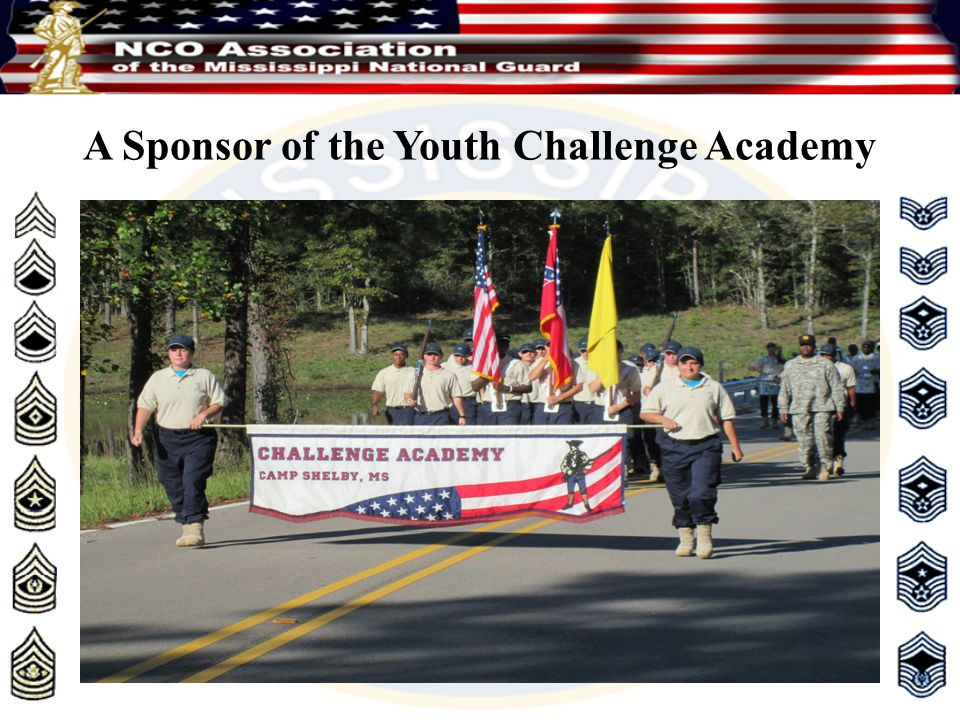 A Sponsor of the Youth Challenge Academy