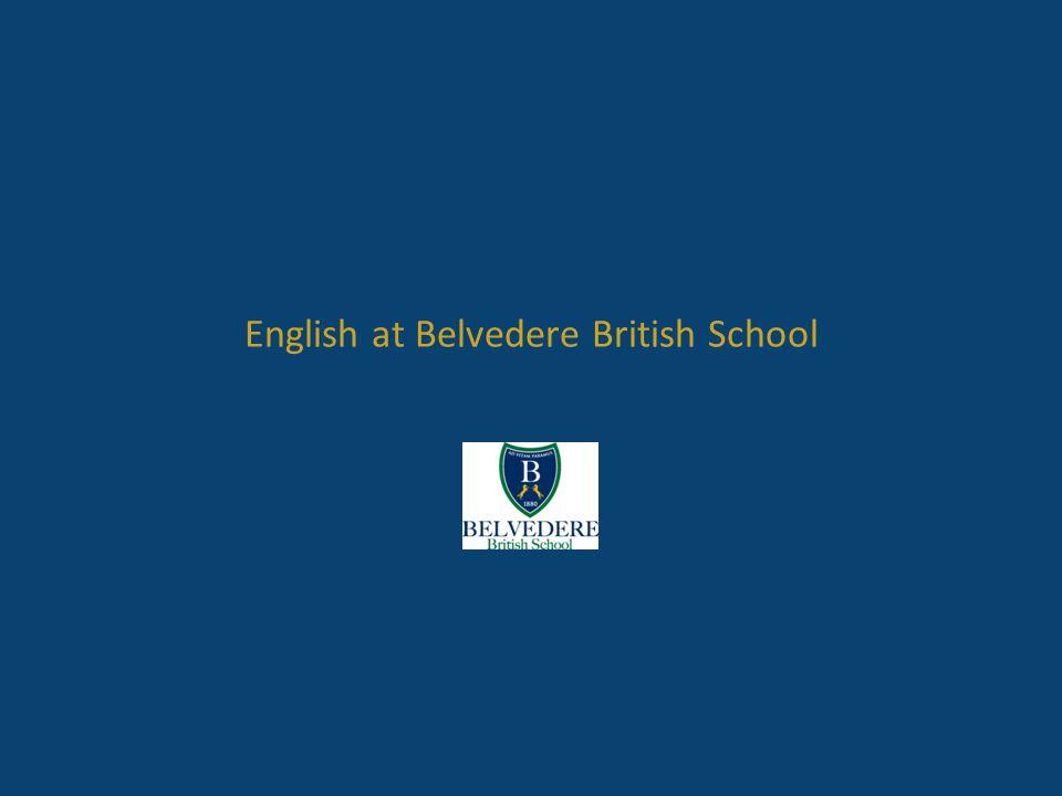 English at Belvedere British School