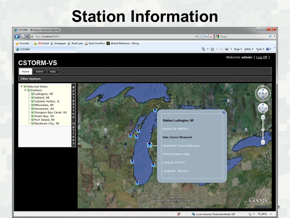 BUILDING STRONG ® Station Information
