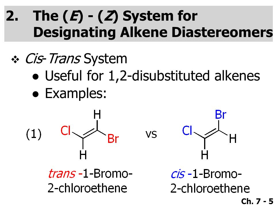 Ch.7 - 26  Use a high concentration of a strong and nonpolarizable base, such as an alkoxide.