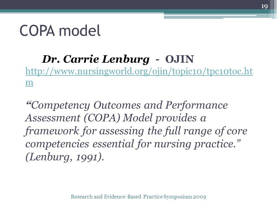 COPA model Dr.