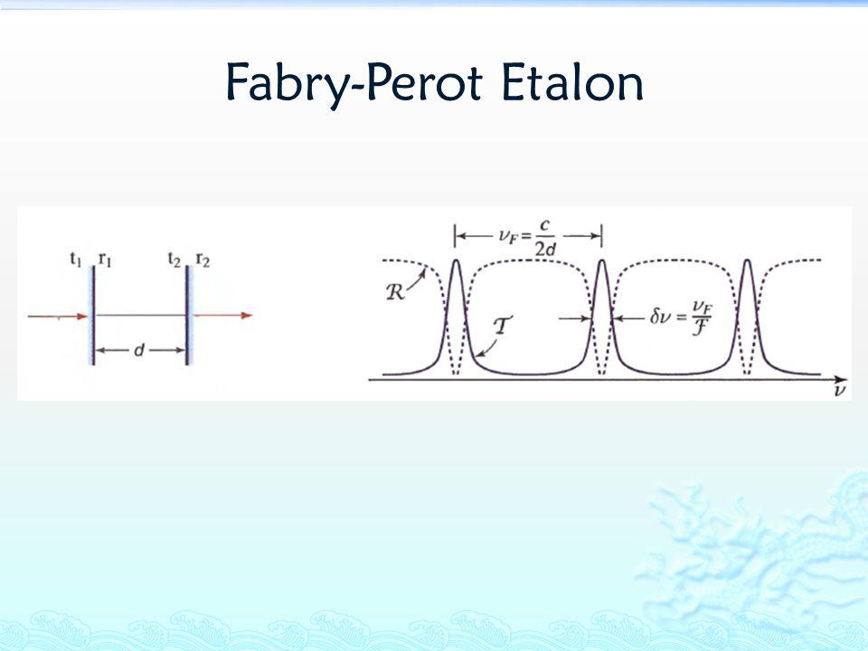 Fabry-Perot Etalon