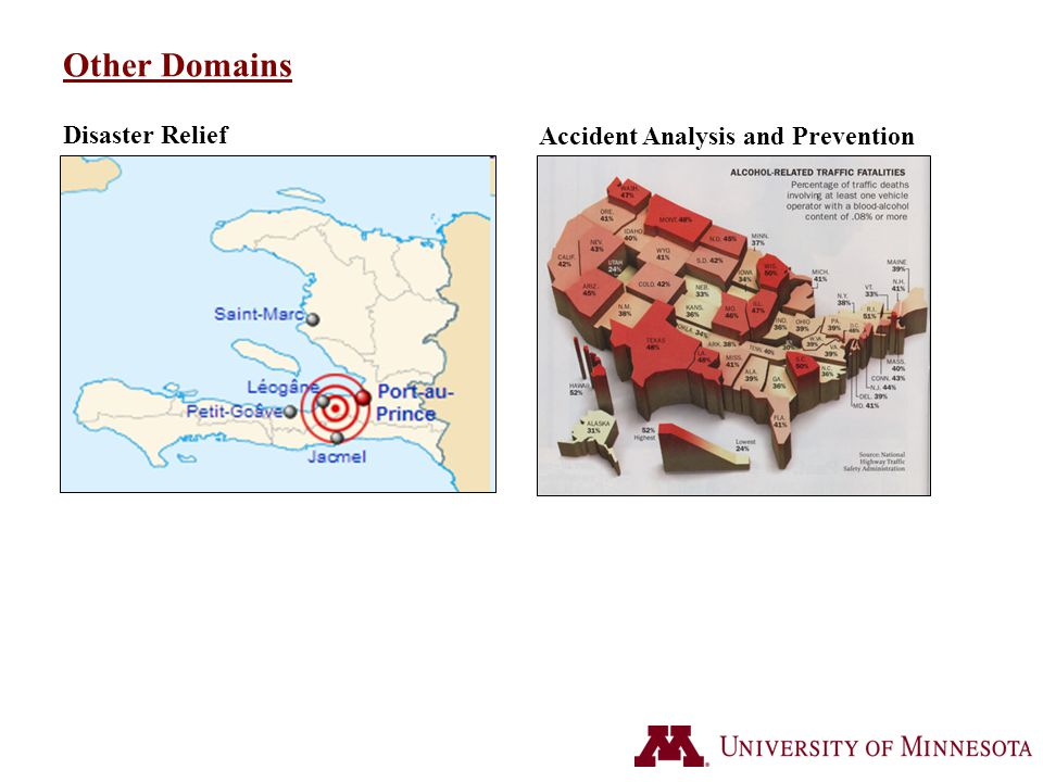 Other Domains Accident Analysis and Prevention Disaster Relief