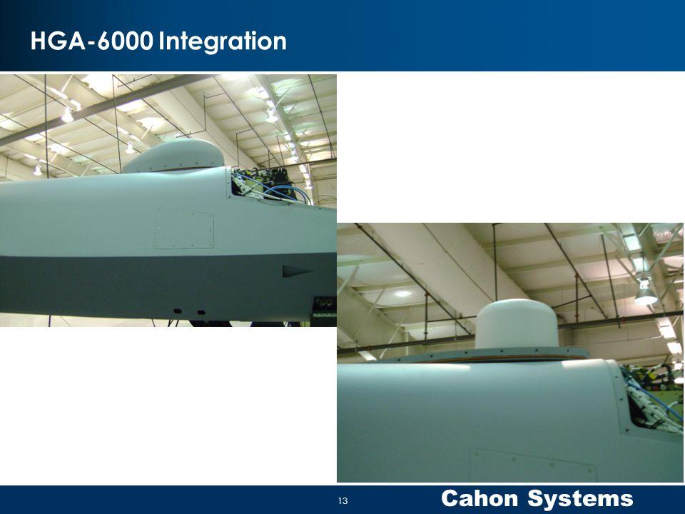 Cahon Systems HGA-6000 Integration 13