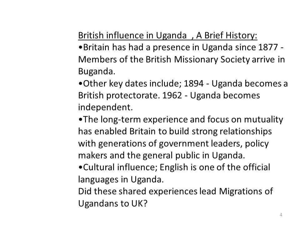 5 UGANDAN COMMUNITY IN THE UK