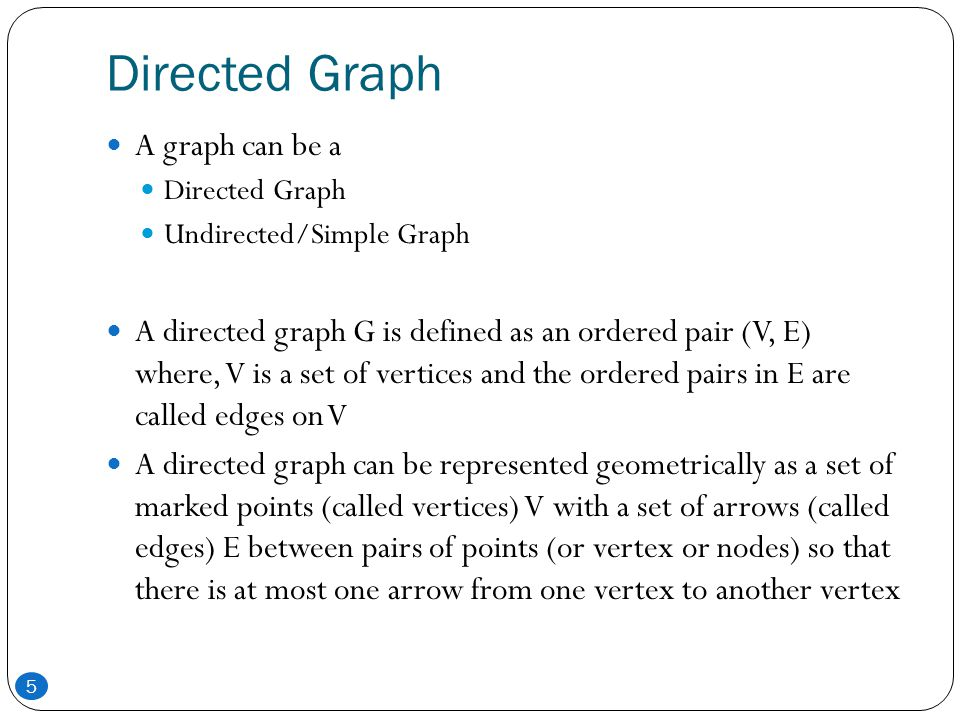 Elementary and Simple Path In a directed graph, a path is a sequence of edges (e1, e2, e3,......