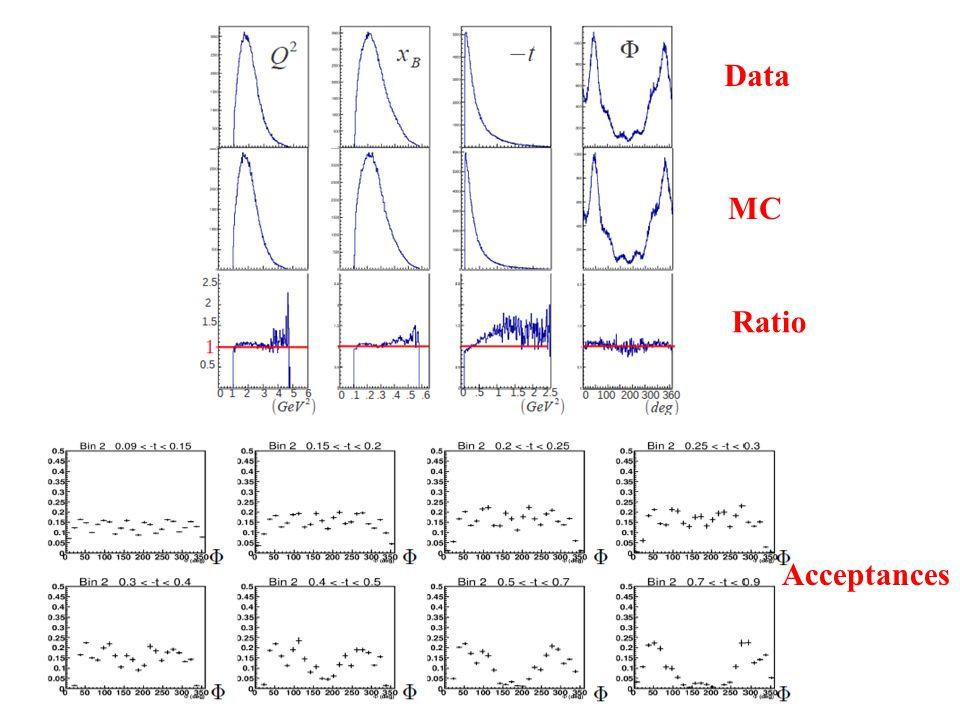 Data MC Ratio Acceptances