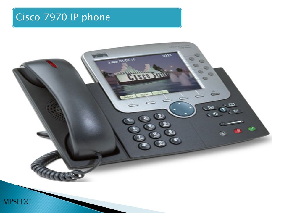 Cisco 7970 IP phone MPSEDC