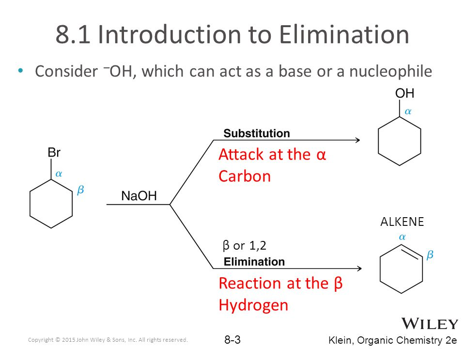If there are multiple reactive sites or regions on a molecule, multiple products are possible In elimination reactions, there are often different β sites that could be deprotonated to yield different alkenes 8.7 Regioselectivity of E2 What is the relationship between the alkene products.