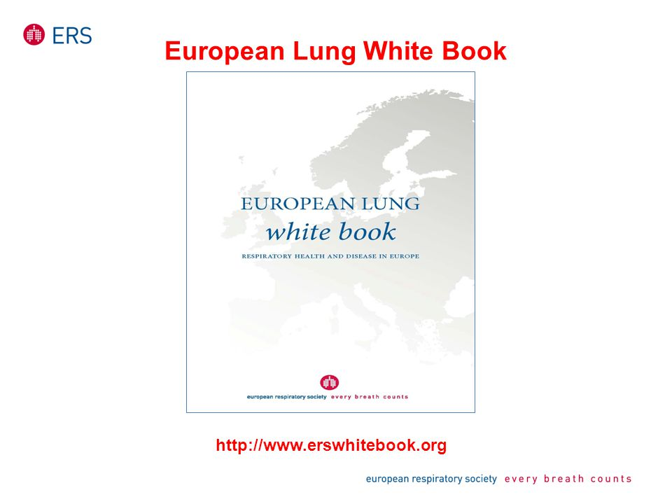 European Lung White Book http://www.erswhitebook.org