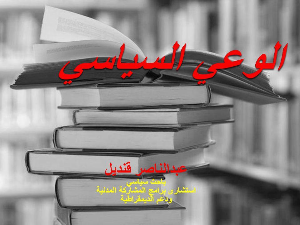 عبدالناصر قنديل باحث سياسي استشارى برامج المشاركة المدنية ودعم الديمقراطية