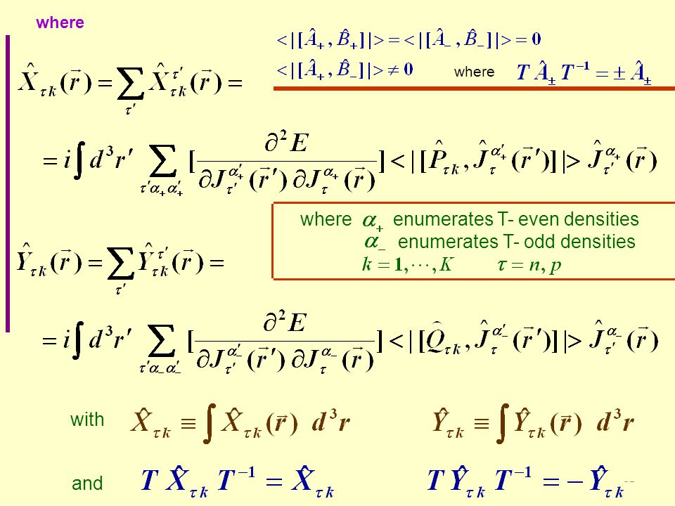 32 with where and where enumerates T- even densities enumerates T- odd densities where enumerates T- even densities enumerates T- odd densities where