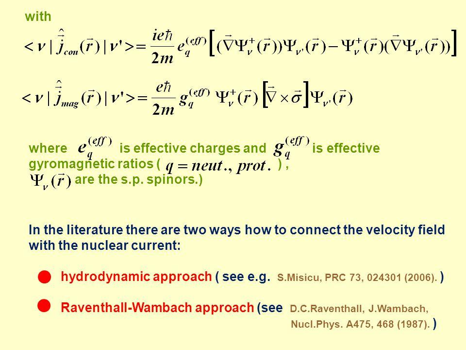 Hydrodynamic approach.