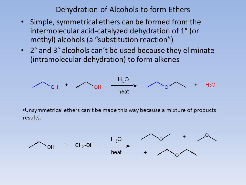 Elimination Reactions 1-bromo-1,1-dimethylethane2-methylpropene Rate law: rate = k [1-bromo-1,1-dimethylethane][OH - ] this reaction is an example of a E2 reaction.