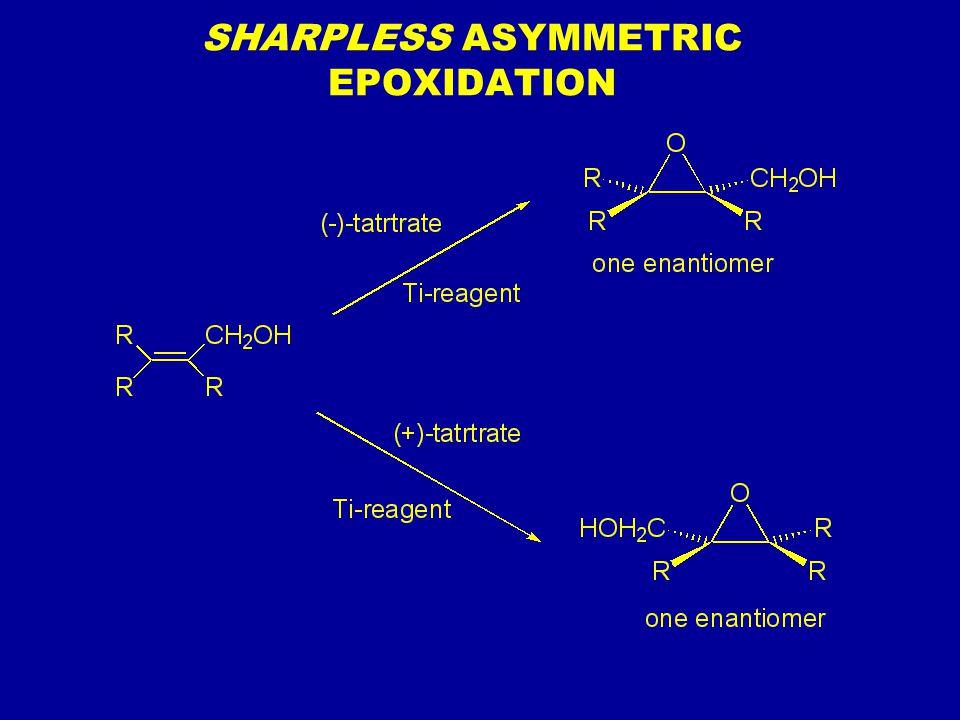 SHARPLESS ASYMMETRIC EPOXIDATION