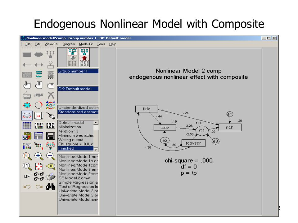 12 Endogenous Nonlinear Model with Composite