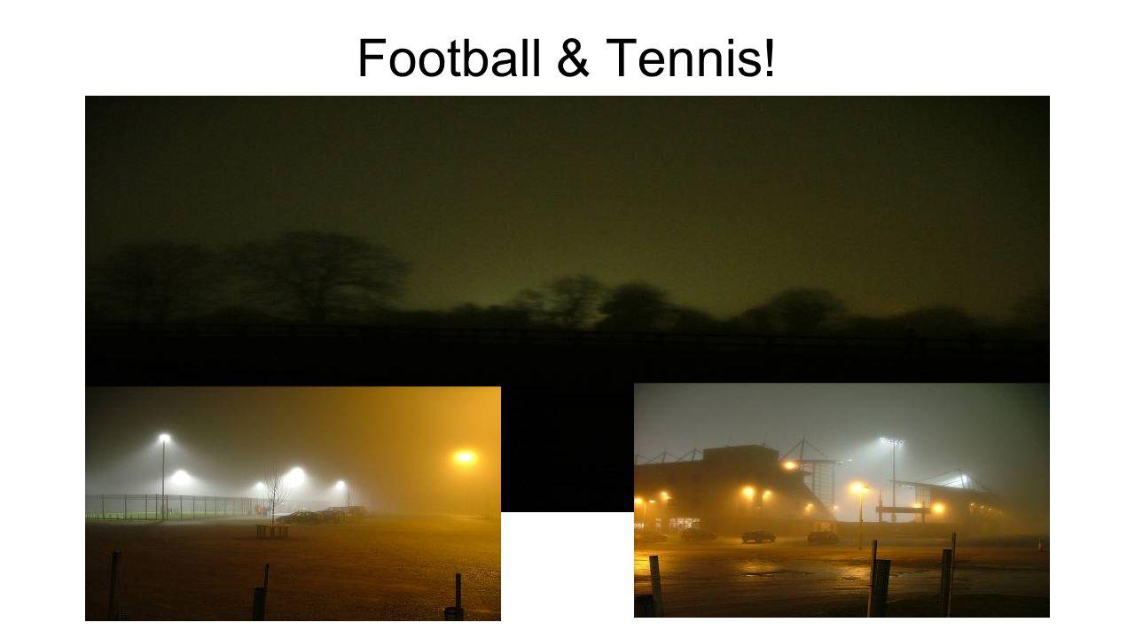 Football & Tennis!