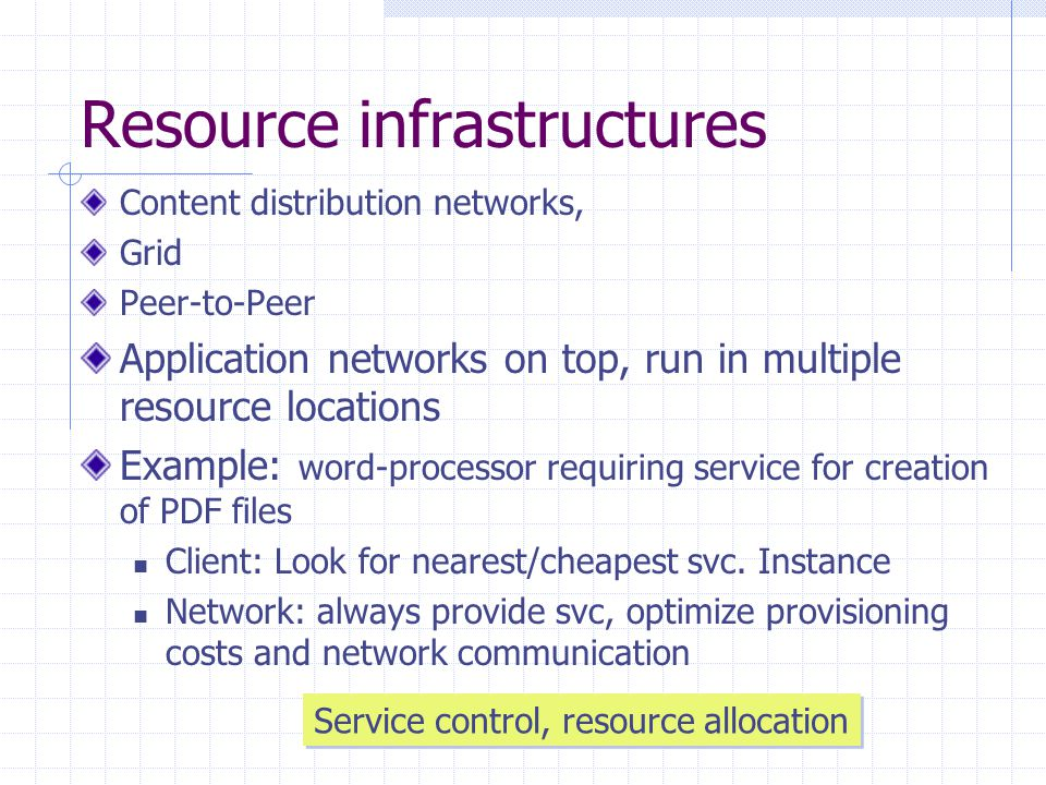 Service control+resource allocation Decentralized economic coordination Price generation and negotiation Trading resources and services Regulation of supply and demand in large and complex systems Catallaxy