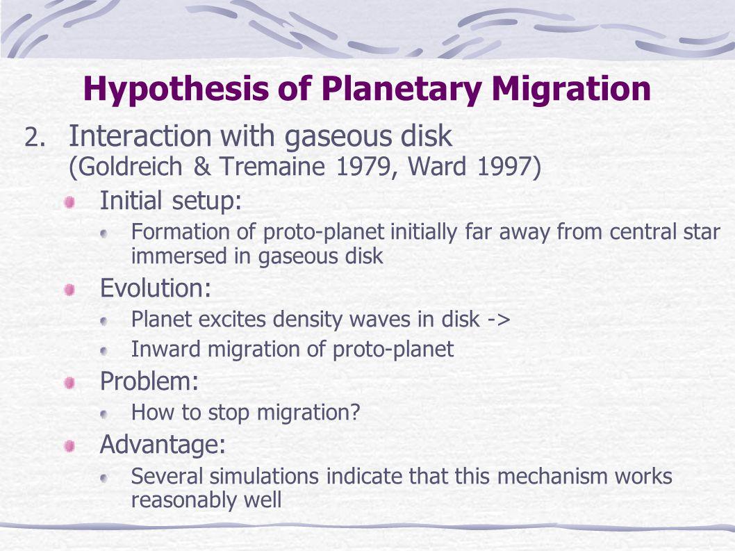 Numeric Simulation: (None-) Adiabatic Migration Adiabatic Migration (A = 10 -6 ) Non-Adiabatic Migration (A = 10 -4 ) Similar Evolutionary Tracks Similar Symmetric Apsidal Corotations Asymmetric Apsidal Corotations