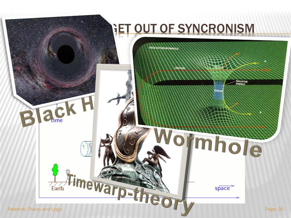 Relativity Theory and LogicPage: 29