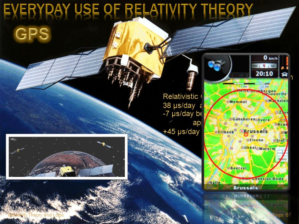 Relativity Theory and LogicPage: 66 via Einstein's Equivalence Principle