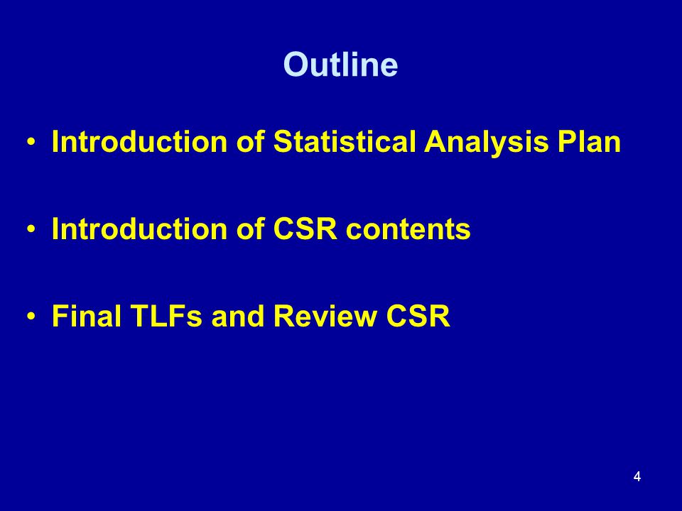 Other CSR Sections: 4, 5, and 6 4. Discussion 5. Conclusion 6. References Appendices 35