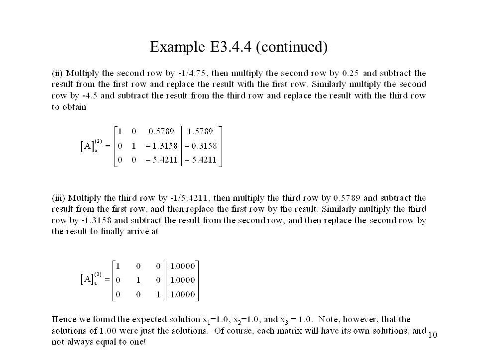 10 Example E3.4.4 (continued)