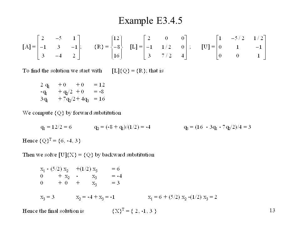 13 Example E3.4.5