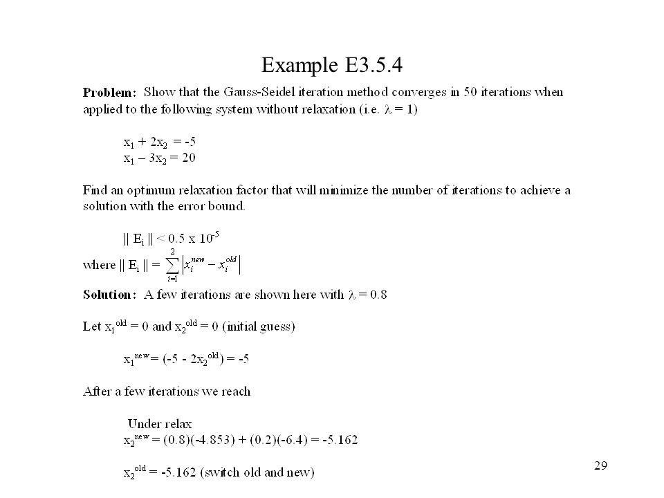 29 Example E3.5.4