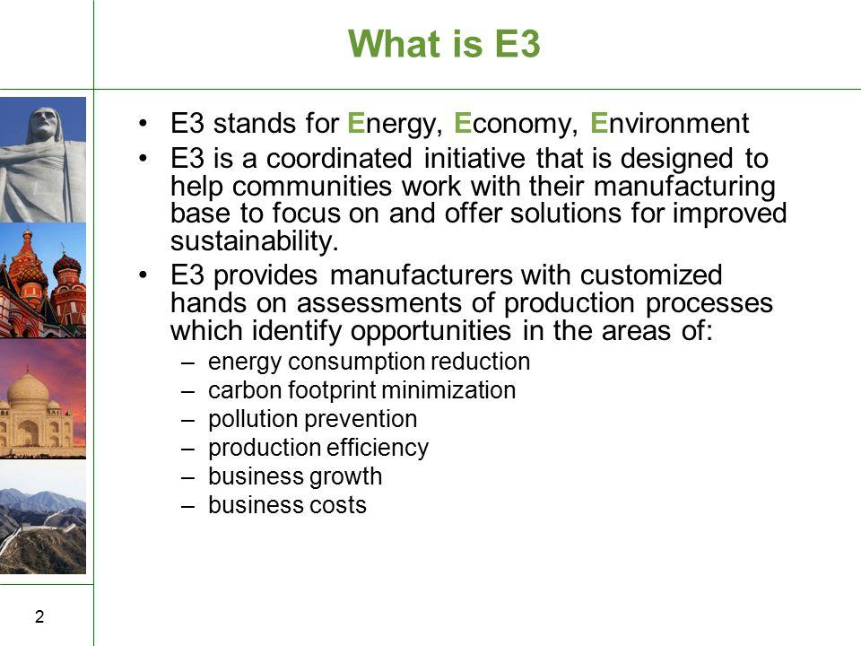 13 金 四 国 Premise & method: Energy evaluations will identify savings available from energy efficiency improvements and waste minimization.
