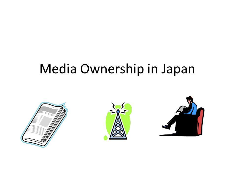 Media Ownership in Japan