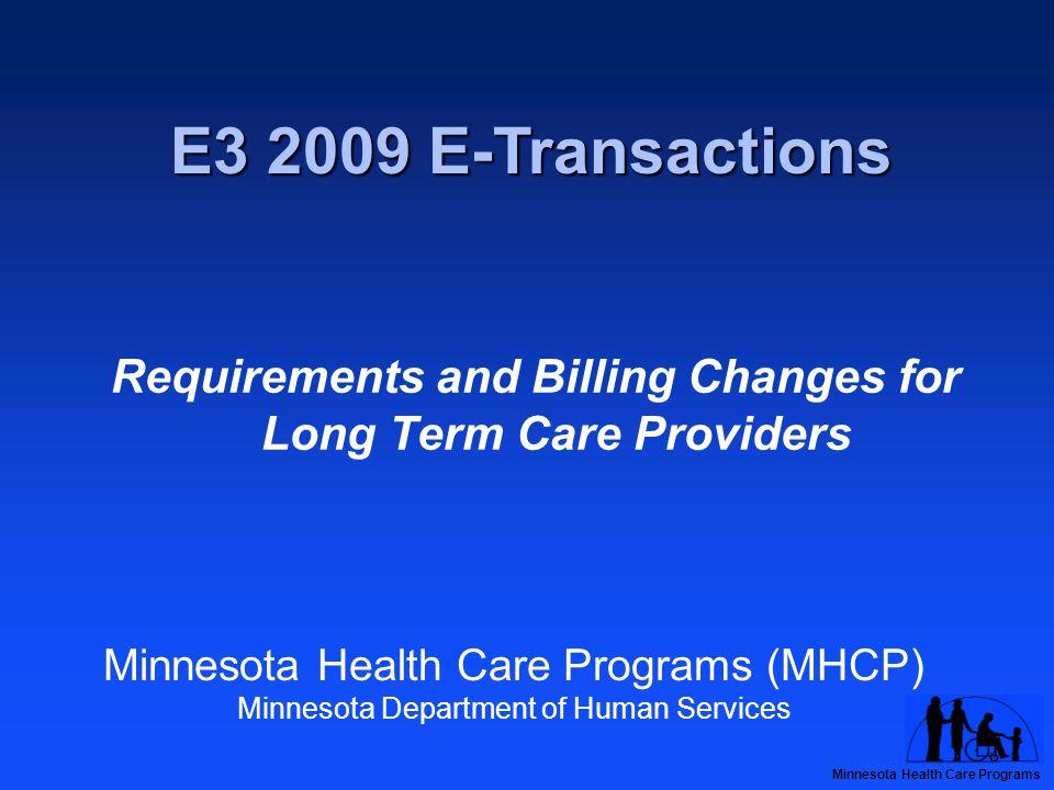 Minnesota Health Care Programs Provider E-Mail Lists