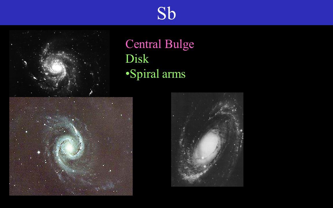 Sc Central Bulge Disk Loose spiral arms