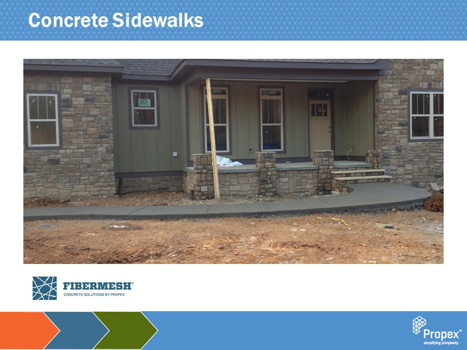 Click to edit Master title style Concrete Sidewalks