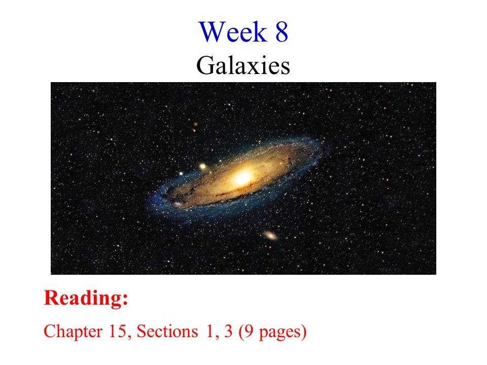 Galaxy/Not a Galaxy? 1 7 6 5 4 32 8910 11