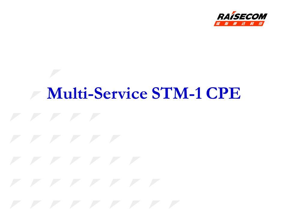 Multi-Service STM-1 CPE