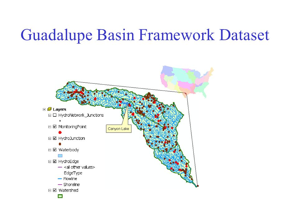Guadalupe Basin Framework Dataset