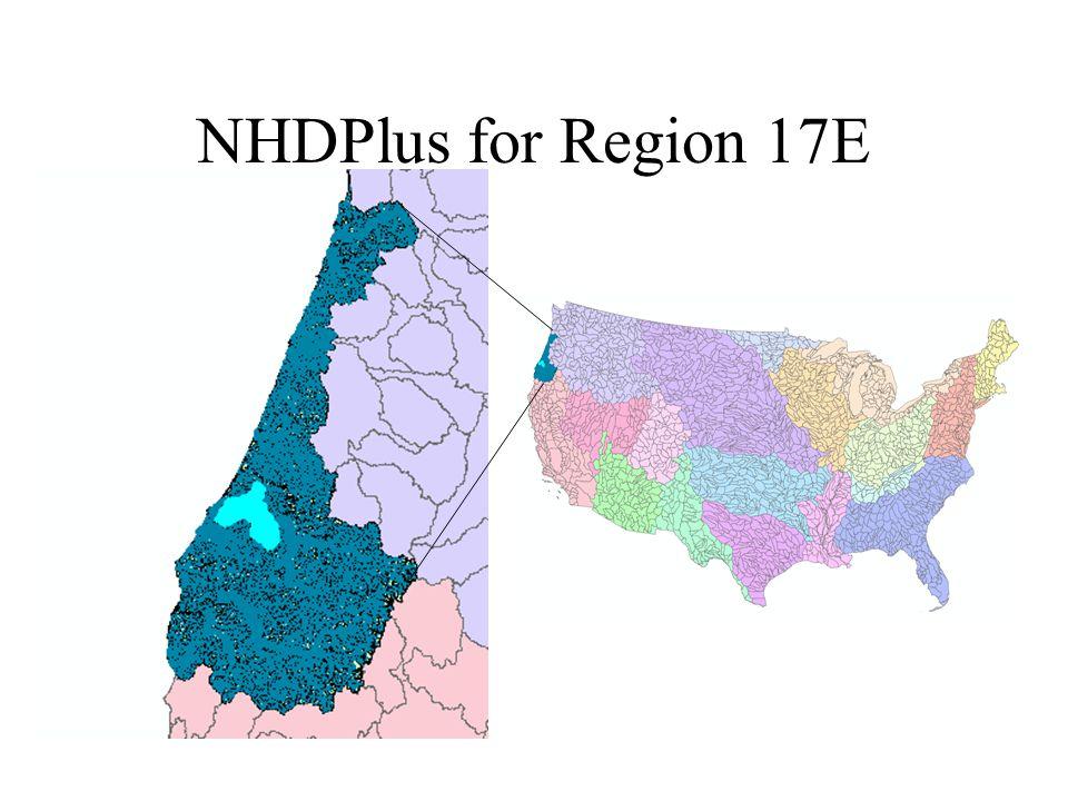 NHDPlus for Region 17E