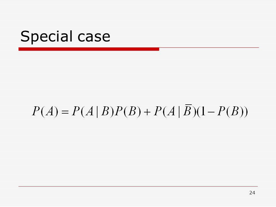 24 Special case