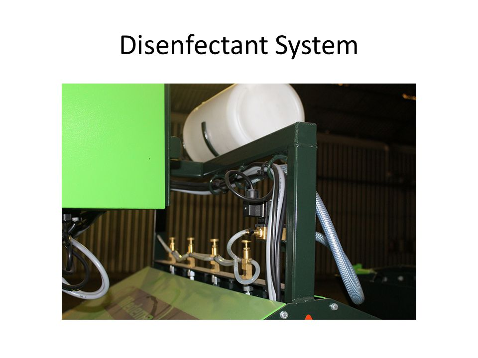 Disenfectant System