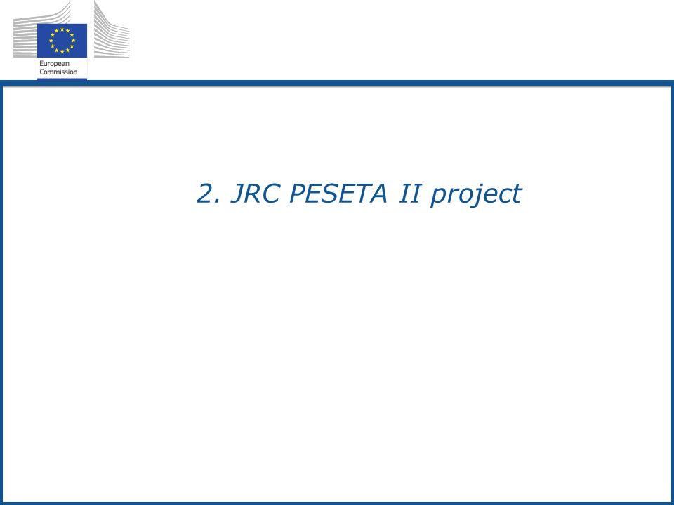 2.2. JRC PESETA II project