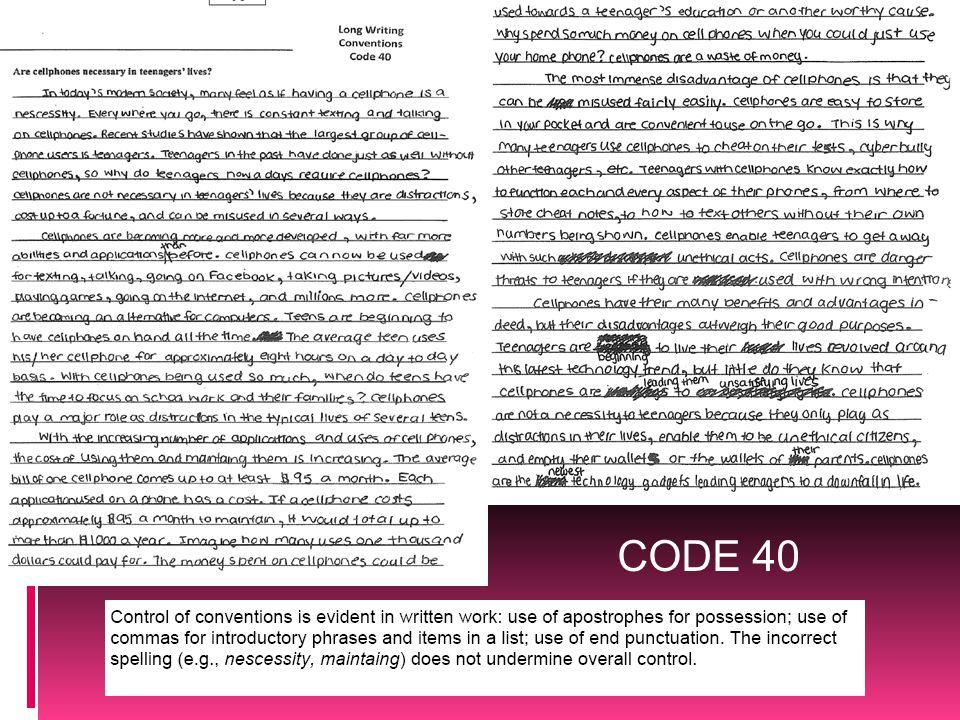 CODE 40