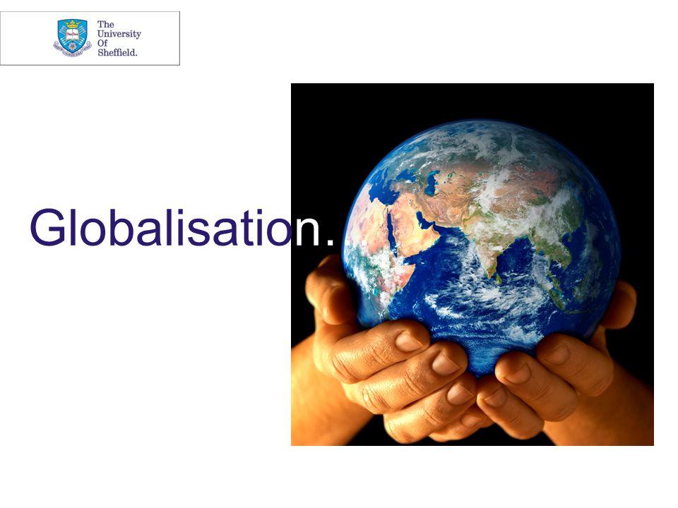 Globalisation…