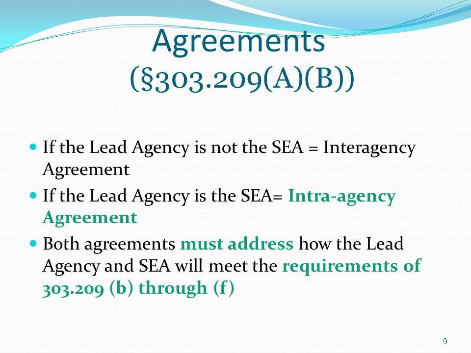 Transition Conference For a child exiting Part C and not potentially eligible for Part B, the lead agency (with family approval) makes reasonable efforts to convene the transition conference.